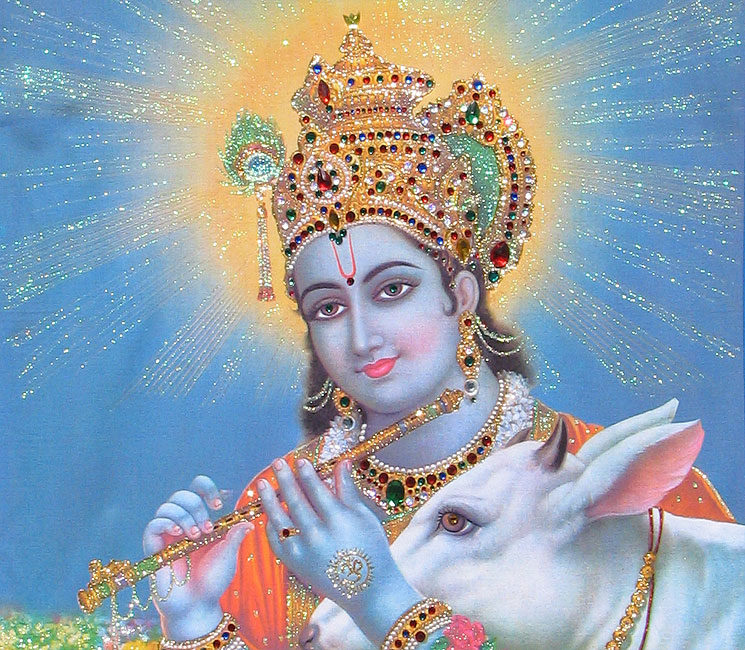 A Message from Krishna on Falling In Love with God