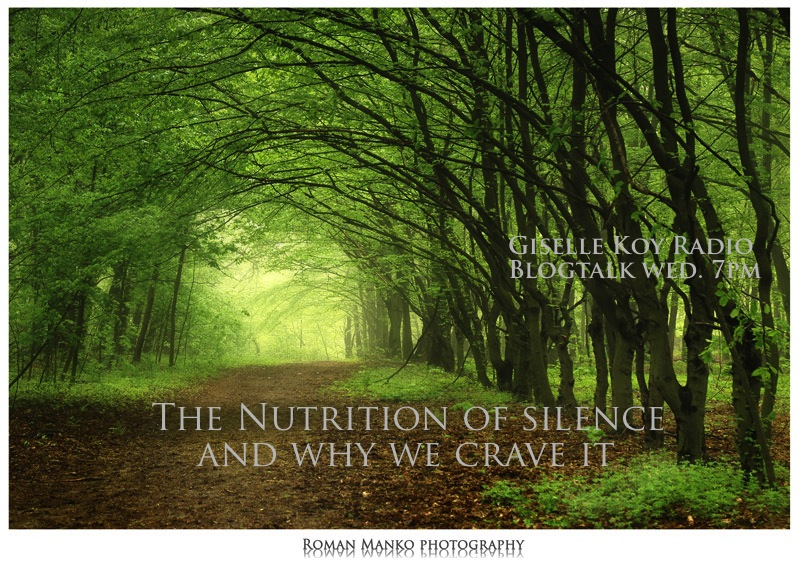 The Nutrition of Silence ~ Blogtalk Radio